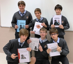 3rd year secondary students honour Mandela in the English subject