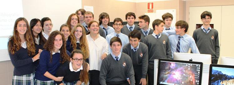 Sesión con la Vicedecana de la Complutense de Madrid