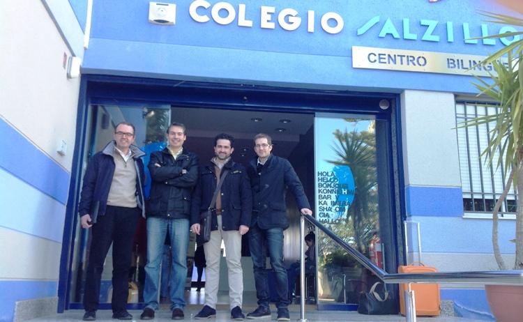 Aprendiendo de un colegio TBL en Murcia