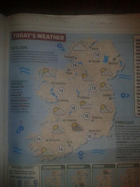 IRELAND'S SCENERY AND ANECDOTES