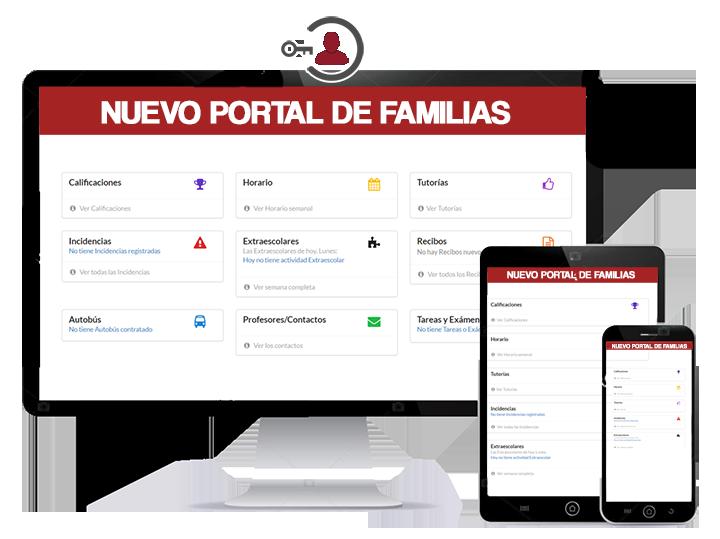 CONECTAS: La nueva plataforma mejorará la comunicación con las Familias