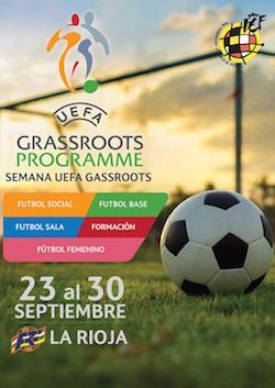 Alcaste-Las Fuentes seleccionado por la Federación Española de Fútbol para organizar la UEFA GRASSROOT WEEK 2018.