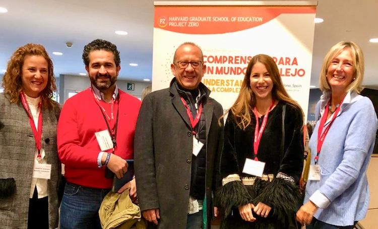 Cinco profesores de Alcaste-Las Fuentes con los mejores del mundo, de la Universidad de Harvard