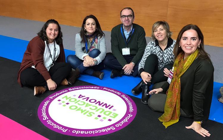 Profesores de Alcaste-Las Fuentes en el Congreso de Educación y Tecnología