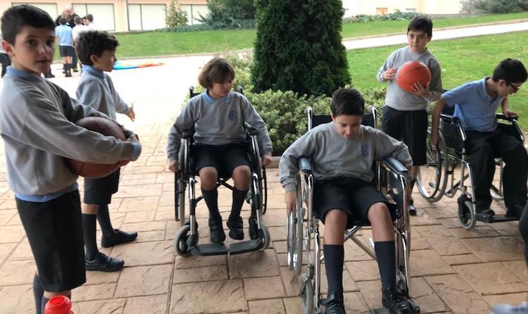 Ponerse en el lugar de los discapacitados