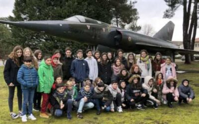 Alumnos de Alcaste-Las Fuentes, de intercambio en Francia