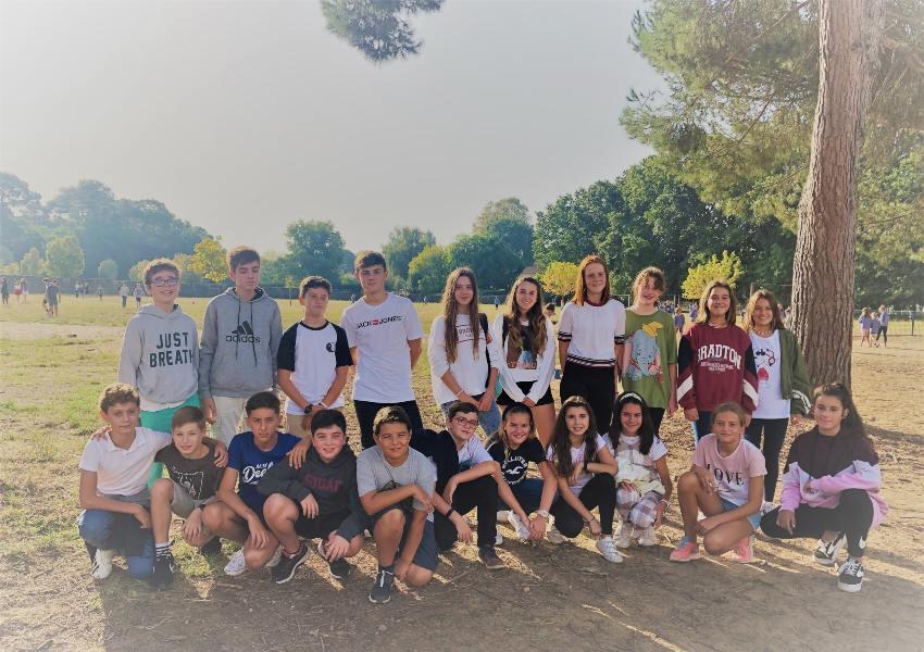 Alumnos de Alcaste-Las Fuentes de ESO, de intercambio en Francia