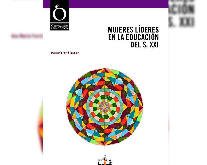 """Susana García Mangas coprotagoniza el libro """"Mujeres líderes en la Educación del siglo XXI"""""""